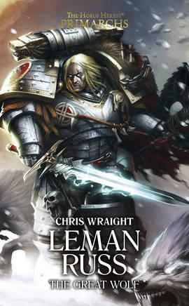 Leman Russ : The Great Wolf (couverture originale)