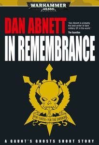 In remembrance (couverture originale)