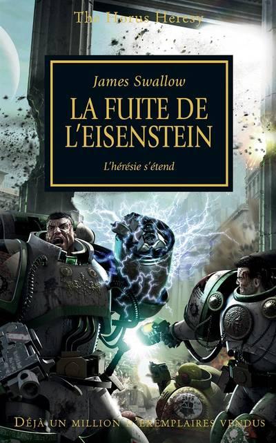 La Fuite de l'Eisenstein (couverture française)