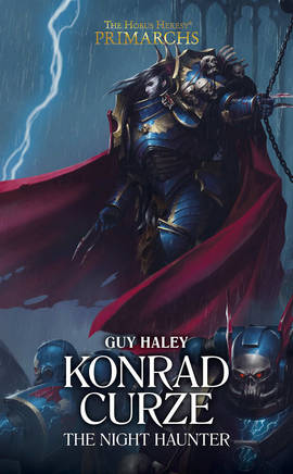 Konrad Curze : The Night Haunter (couverture originale)