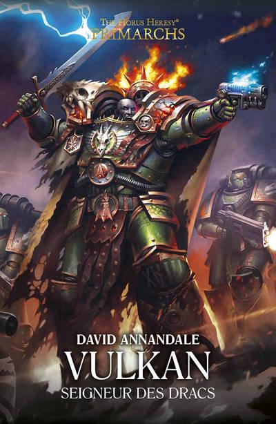 Vulkan : Seigneur des Dracs (couverture française)