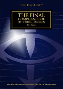 The Final Compliance of Sixty-Three Fourteen (couverture originale)