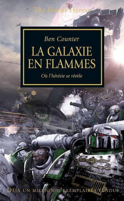 La Galaxie en Flammes (couverture française)