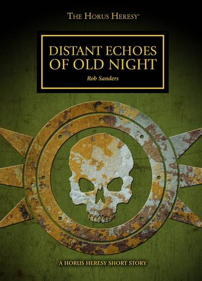 Distant Echoes of Old Night (couverture originale)