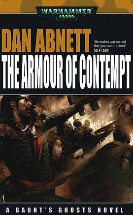 The Armour of Contempt (couverture originale)