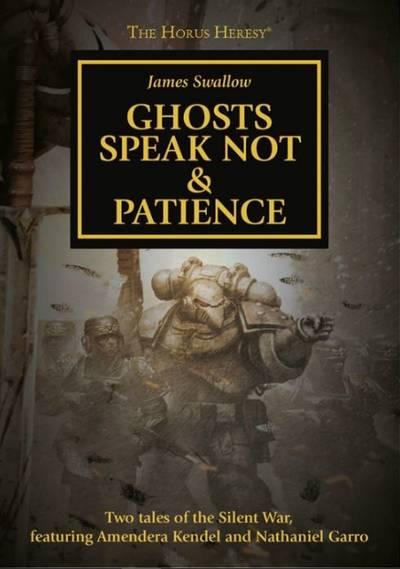 Ghosts Speak Not & Patience (couverture originale)
