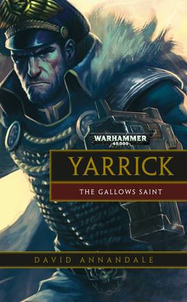 Yarrick : The Gallows Saint (couverture originale)