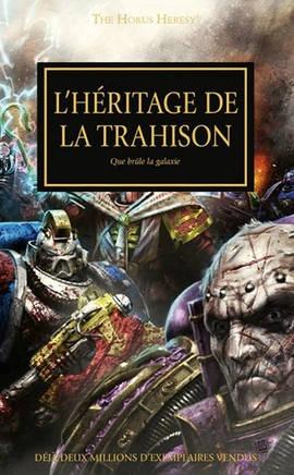 L'Héritage de la Trahison (couverture française)