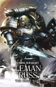 Leman Russ : The Great Wolf (couverture originale)