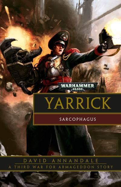 Yarrick : Sarcophagus (couverture originale)