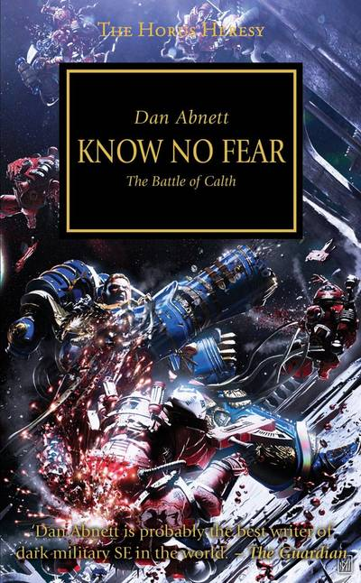 Know no Fear (couverture originale)