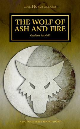 The Wolf of Ash and Fire (couverture originale)