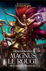 Magnus le Rouge : Maître de Prospero (couverture française)