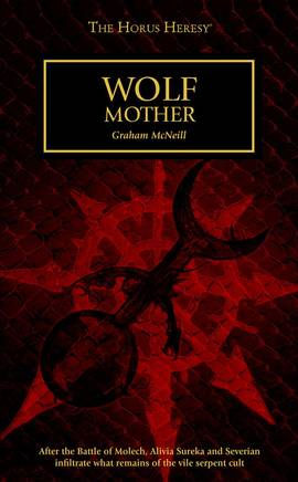 Wolf Mother (couverture originale)