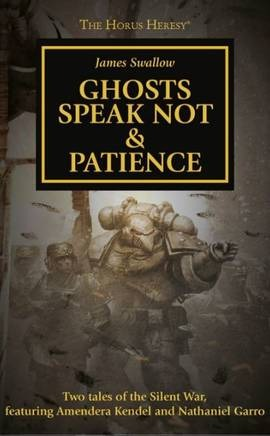 Ghosts Speak Not & Patience (couverture originale)