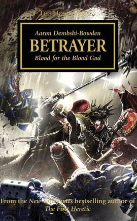 Betrayer (couverture originale)