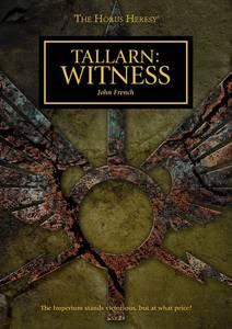 Tallarn : Witness (couverture originale)