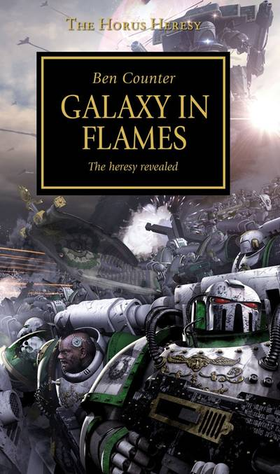 Galaxy in Flames (couverture originale)