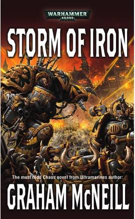 Storm of Iron (couverture originale)