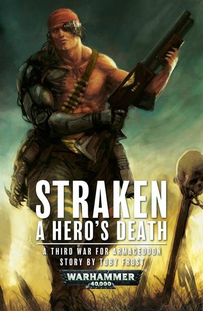 Straken : A Hero's Death (couverture originale)