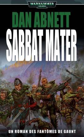 Sabbat Mater (couverture française)
