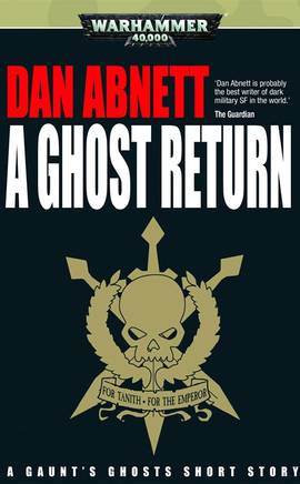 A Ghost Return (couverture originale)