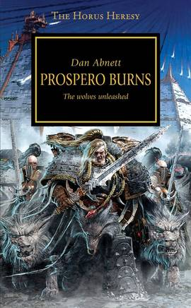 Prospero Burns (couverture originale)