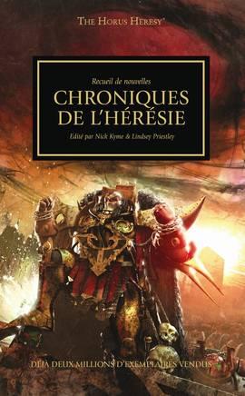 Chroniques de l'Hérésie (couverture française)