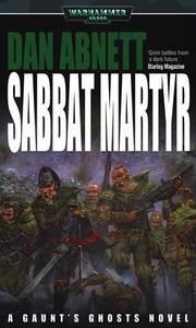 Sabbat Martyr (couverture originale)