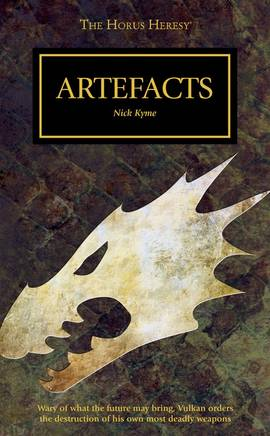 Artefacts (couverture originale)
