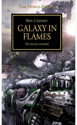 Galaxy in Flames (couverture originale)