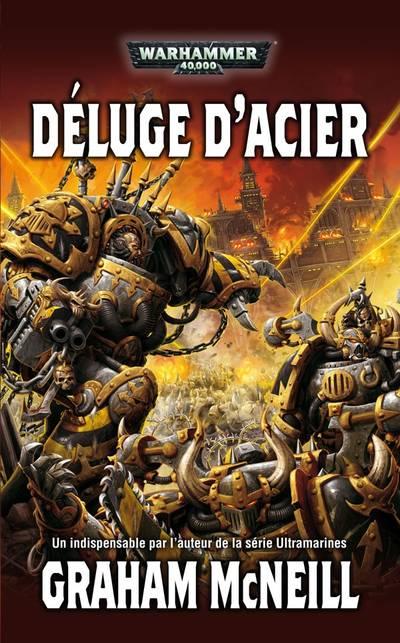 Déluge d'Acier (couverture française)