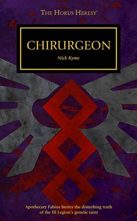 Chirurgeon (couverture originale)