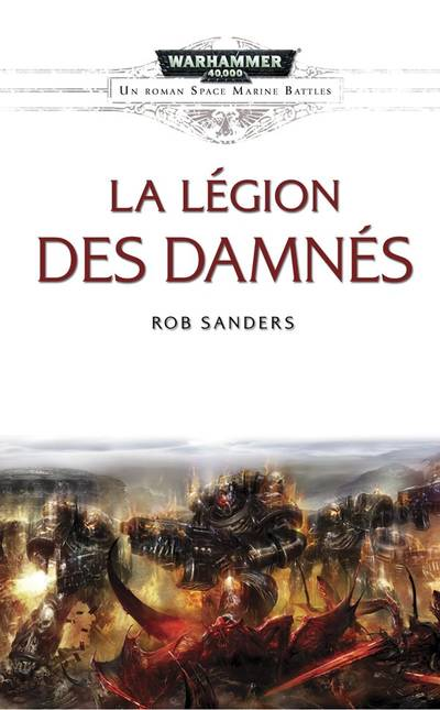 La Légion des Damnés (couverture française)