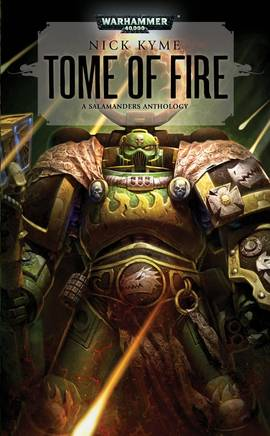 Tome of Fire (couverture originale)
