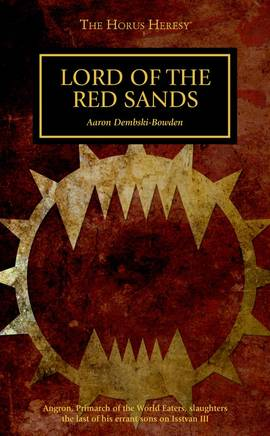 Lord of the Red Sands (couverture originale)