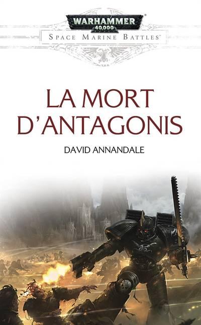 La Mort d'Antagonis (couverture française)