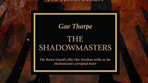 The Shadowmasters (couverture originale)